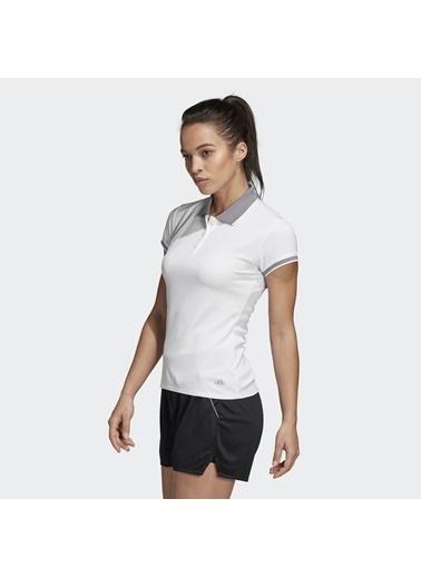 adidas Adidas Kadın Tenis Polo Yaka T-Shirt Dw8687 Club Polo Beyaz